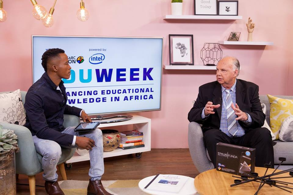 John Bransby, from Maths & Science Marketing, being interviewed on TV 3 Expresso, about the new Blended Learning for Maths & Science, as well as SABC Eduweek, where he was a guest speaker for 300 Maths & Science teachers in Johannesburg.