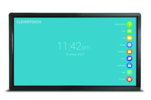 clevertouch PLUS front on LUX 002