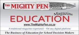 The Mighty Pen Logo Magazine 1