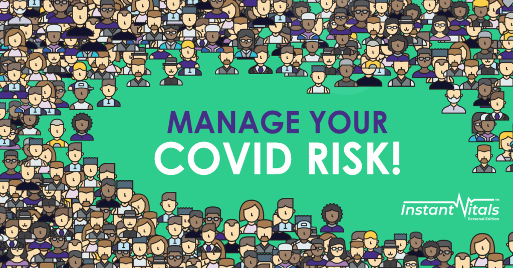 Manage your COVID risk